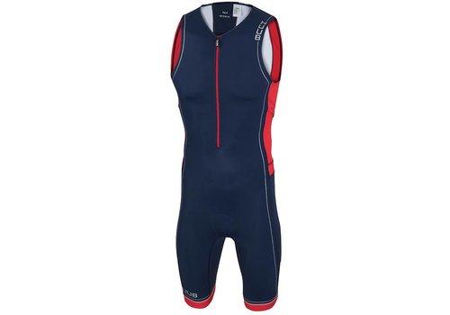 HUUB Core Trisuit Navy-Rood