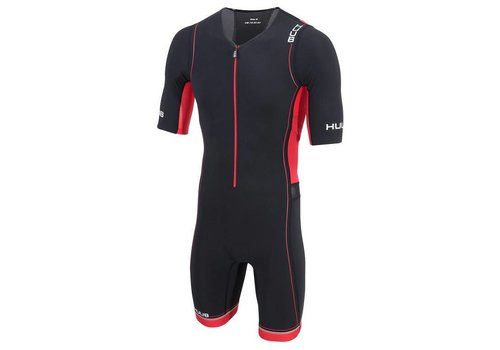 HUUB Core Long Course Suit Zwart-Rood