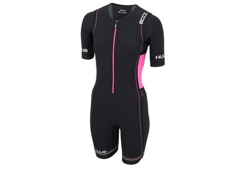 HUUB Core Long Course Trisuit Roze