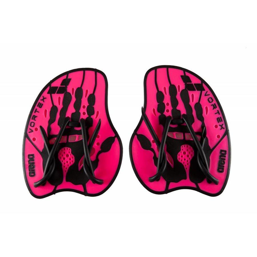 Arena Vortex Evolution Handpaddles Roze-Zwart