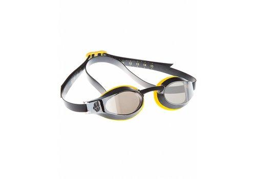 Madwave Zwembril X-Look Spiegel Geel