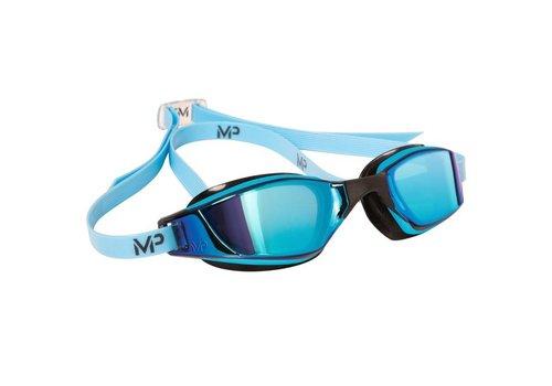 Michael Phelps XCeed Titanium Spiegel Blauw