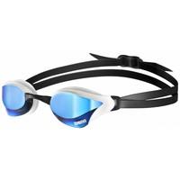 Arena Zwembril Cobra Core Spiegel Blauw-Wit