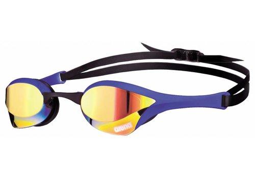 Arena Zwembril Cobra Ultra Spiegel Geel-Revo-Blauw