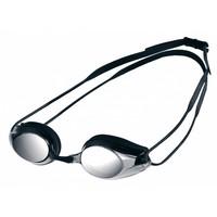 Arena Zwembril Tracks Spiegel Zwart-Zilver
