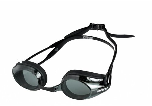 Arena Zwembril Tracks Zwart-Donker
