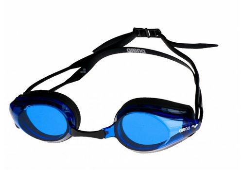 Arena Zwembril Tracks Zwart-Blauw