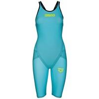 Arena Powerskin Carbon Flex VX Open Rug Turquoise-Zwart