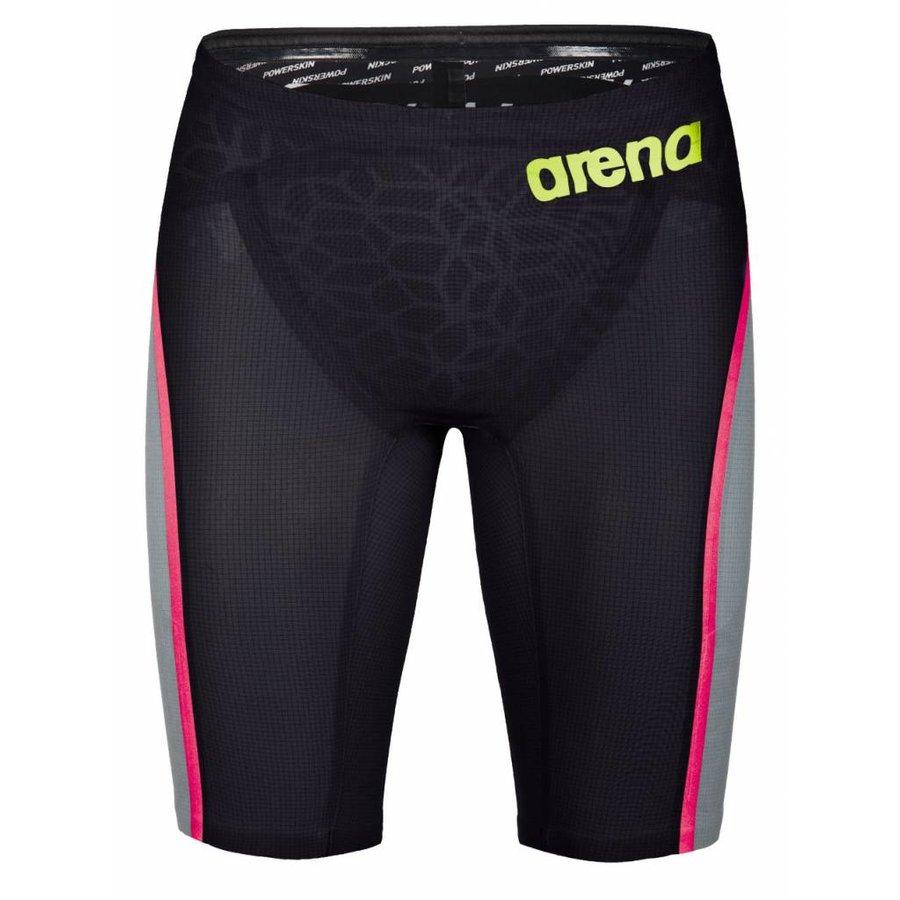 Arena Powerskin Carbon Ultra Jammer Grijs-Fluor Geel