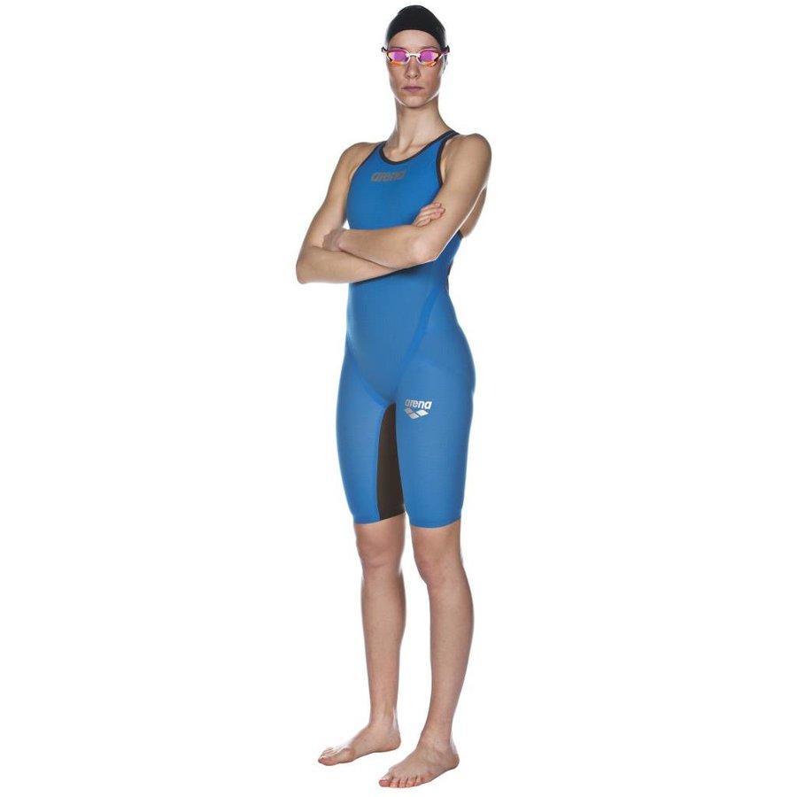 Arena Powerskin Carbon Flex VX Dichte Rug Blauw