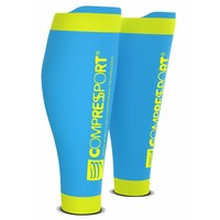 Compressport Calf Sleeves R2 V2 Ijs-Blauw