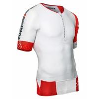 CompresSport TR3 Aero Shirt Wit-Rood