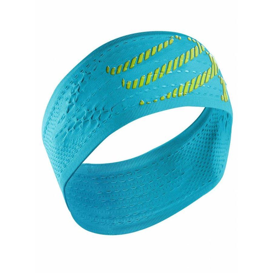 Compressport Head Band Blauw