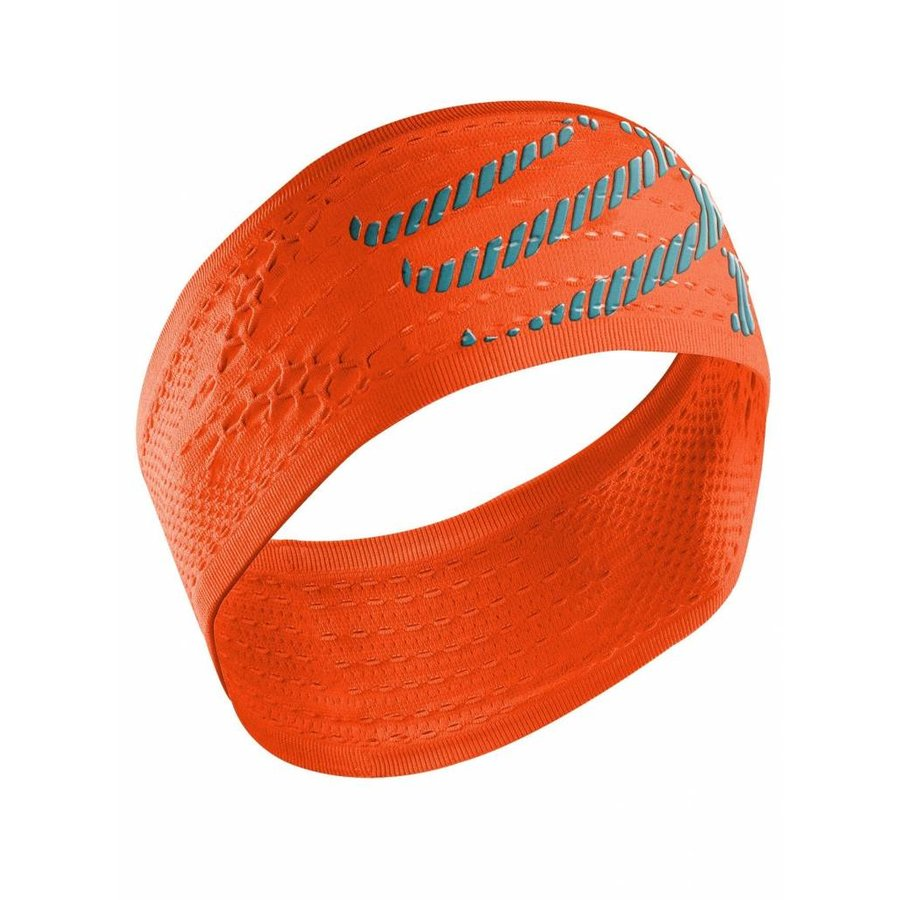 Compressport Head Band Oranje