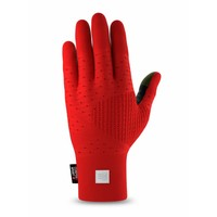 CompresSport 3D Thermo Seamless Running Gloves Rood-Zwart