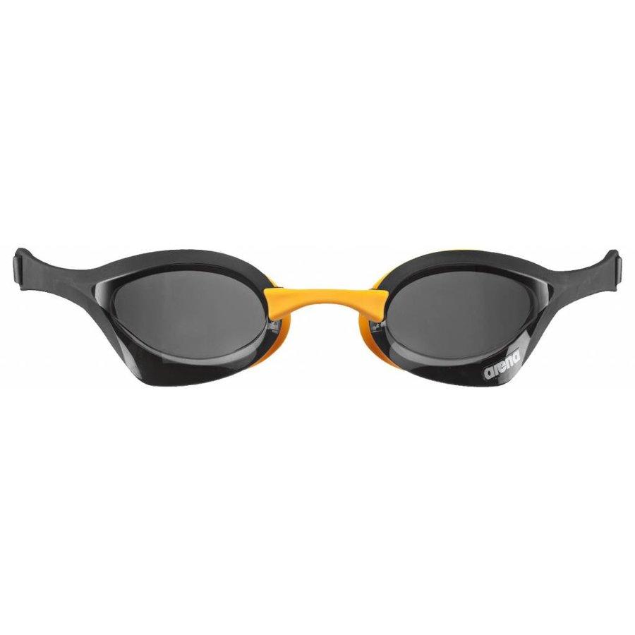 Arena Zwembril Cobra Ultra Zwart-Oranje