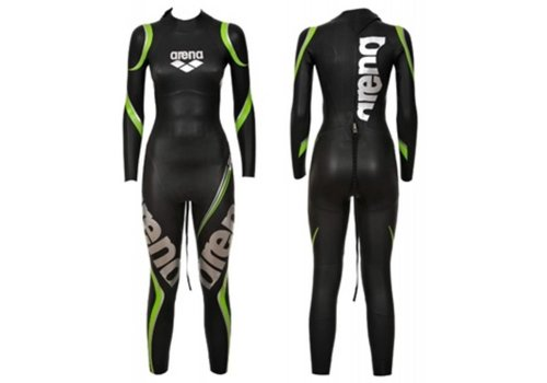 Arena Wetsuit Carbon Black Full Suit Dames