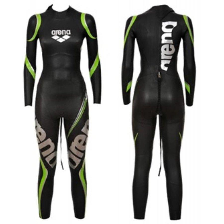 Arena Wetsuit Carbon Black Full Suit Dames