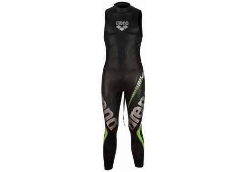 Arena Wetsuit Carbon Black Sleevless Heren