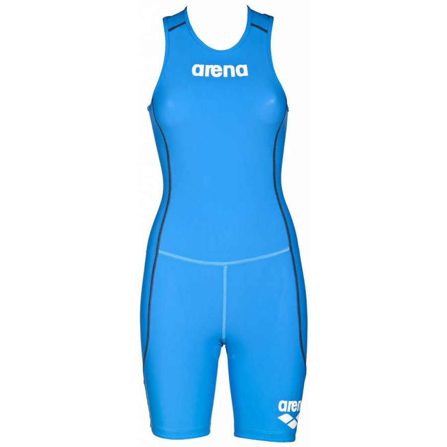 Arena Trisuit ST Rear Zip Dames Brilliant-Blauw
