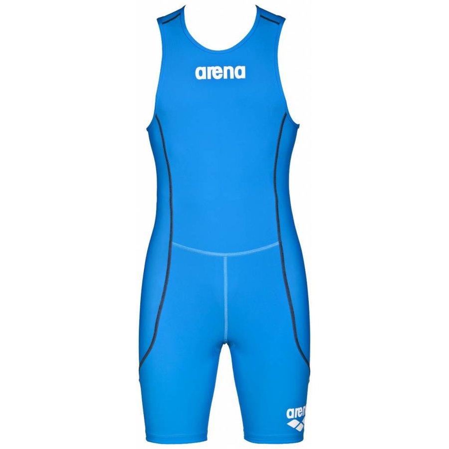 Arena Trisuit ST Rear Zip Heren Birlliant-Blauw
