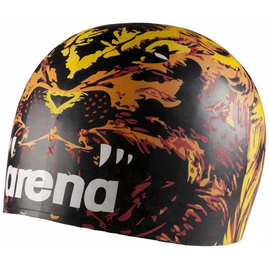 Arena Badmuts Moulded Black Lion