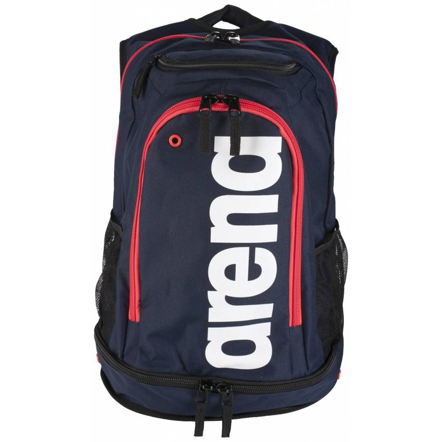 Arena Rugzak Fastpack Core Navy-Rood-Wit