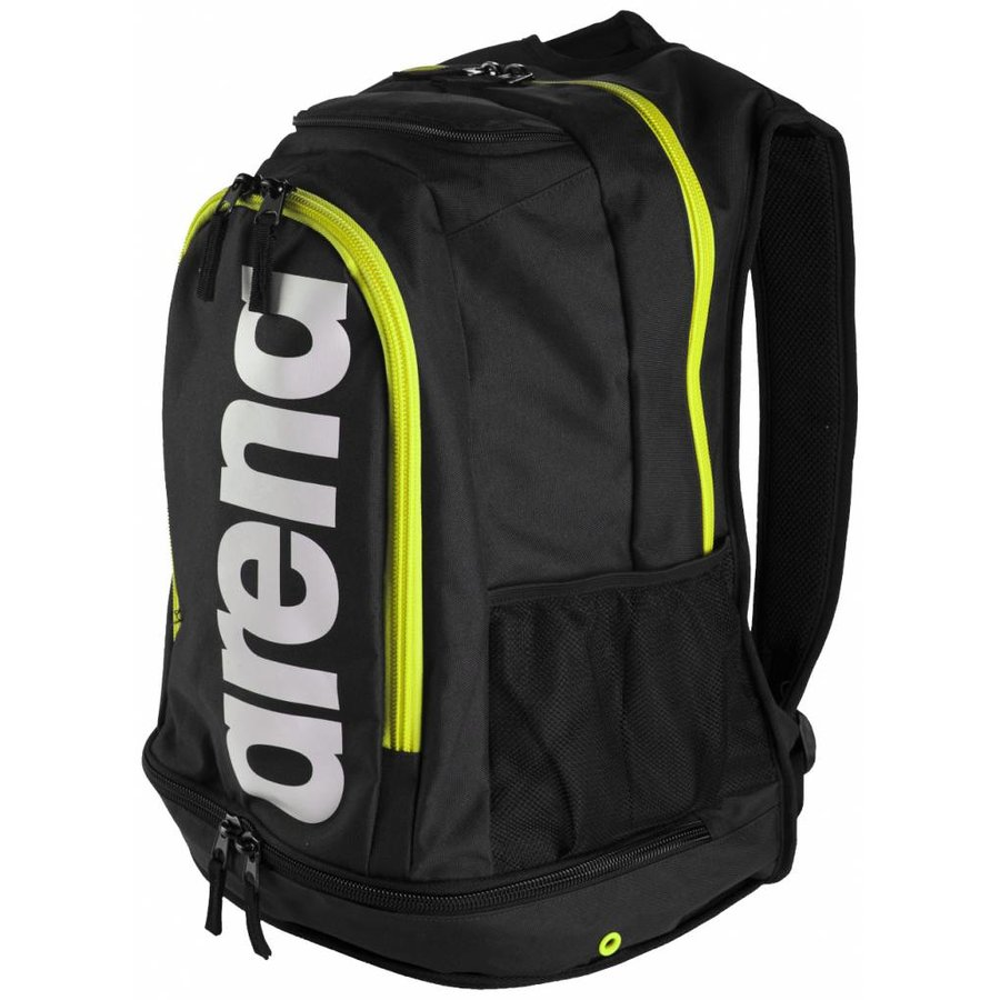 Arena Rugzak Fastpack Core Zwart-Fluo_Groen