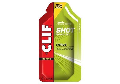 Clif® Shot Gel Citrus-Caffeine (per 24 in doos)