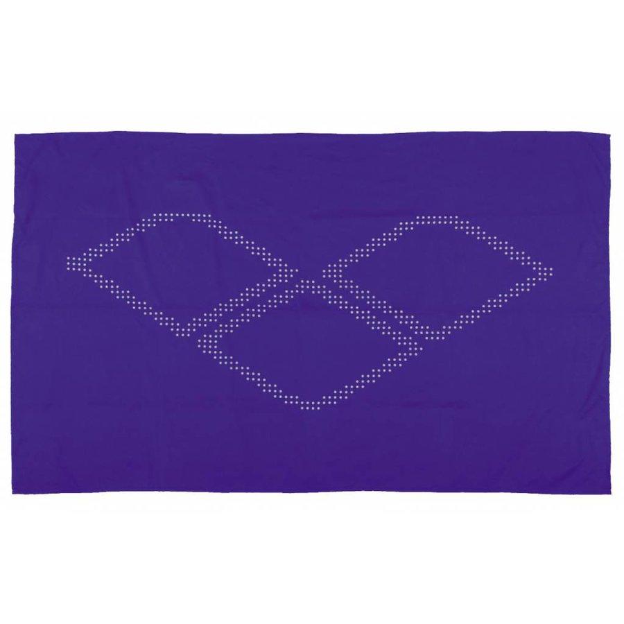 Arena Halo Microvezel Handdoek Blauw