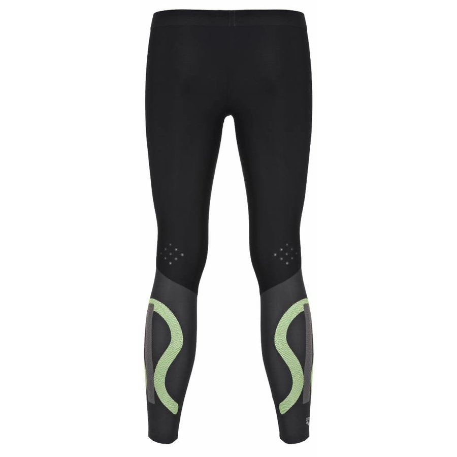 Arena Carbon Compression Long Tight Heren Grijs-Wit