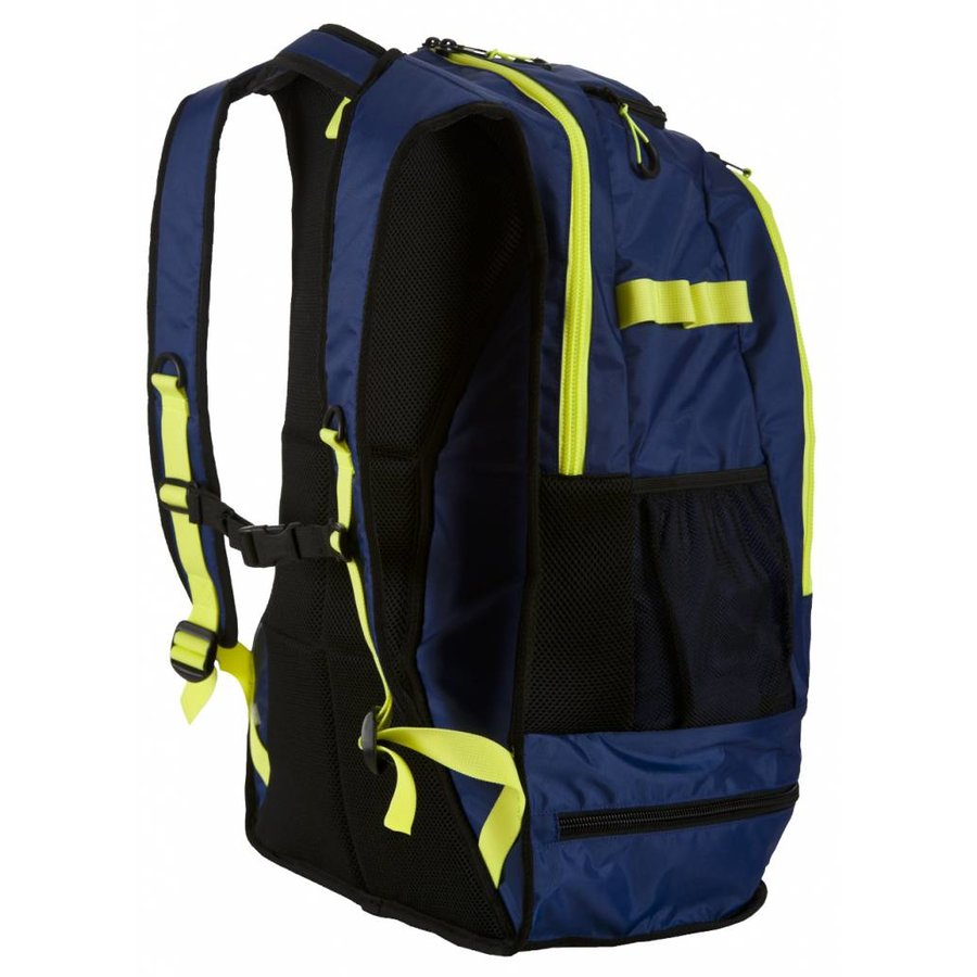 Arena Rugzak Fastpack 2.1 Navy-Geel