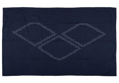 Arena Halo Microvezel Handdoek Navy