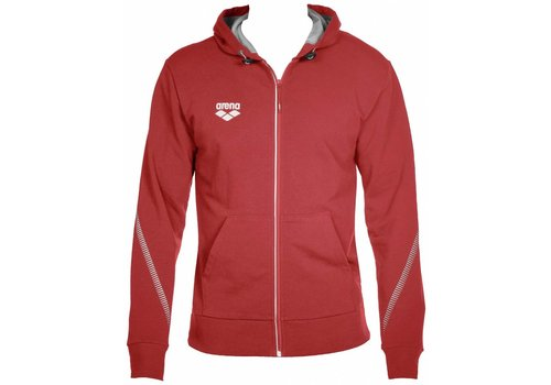 Arena Hooded Jacket Rood