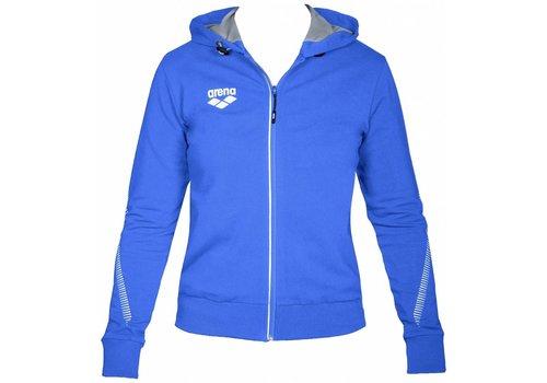 Arena Dames Hooded Jacket Royal