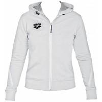 Arena Dames Hooded Jacket Wit
