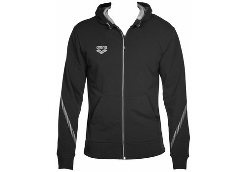 Arena Hooded Jacket Zwart
