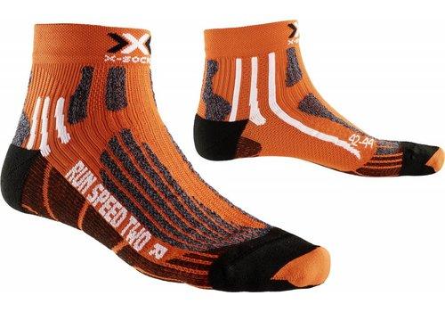 X-Socks Speed Oranje-Zwart