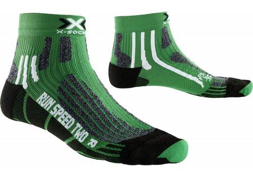 X-Socks Speed Groen-Zwart