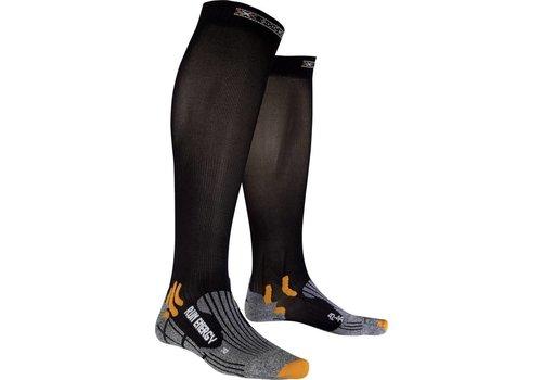 X-Socks Run Energizer Zwart