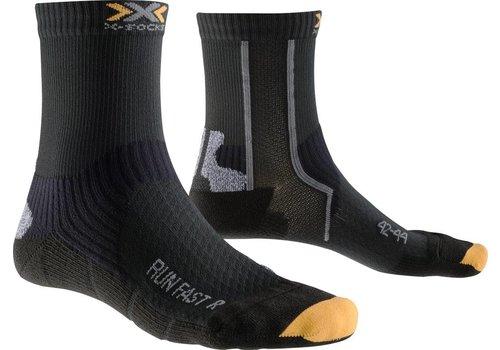 X-Socks Run Fast Zwart