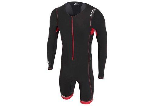 HUUB Core Full Sleeve Suit Zwart-Rood