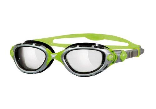 Zoggs Zwembril Predator Flex Reactor-Titanium