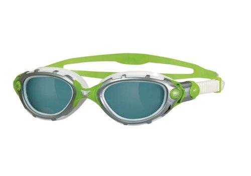 Zoggs Zwembril Predator Flex Zilver-Lime