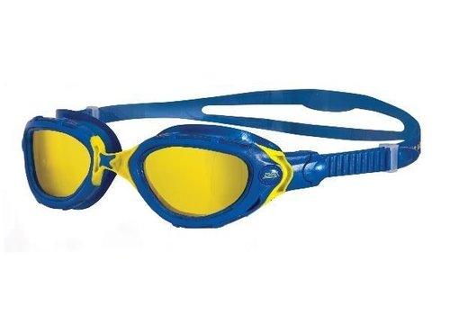 Zoggs Zwembril Predator Flex Blauw-Geel