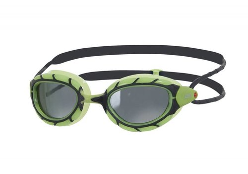 Zoggs Zwembril Predator Polarized  Smoke Groen