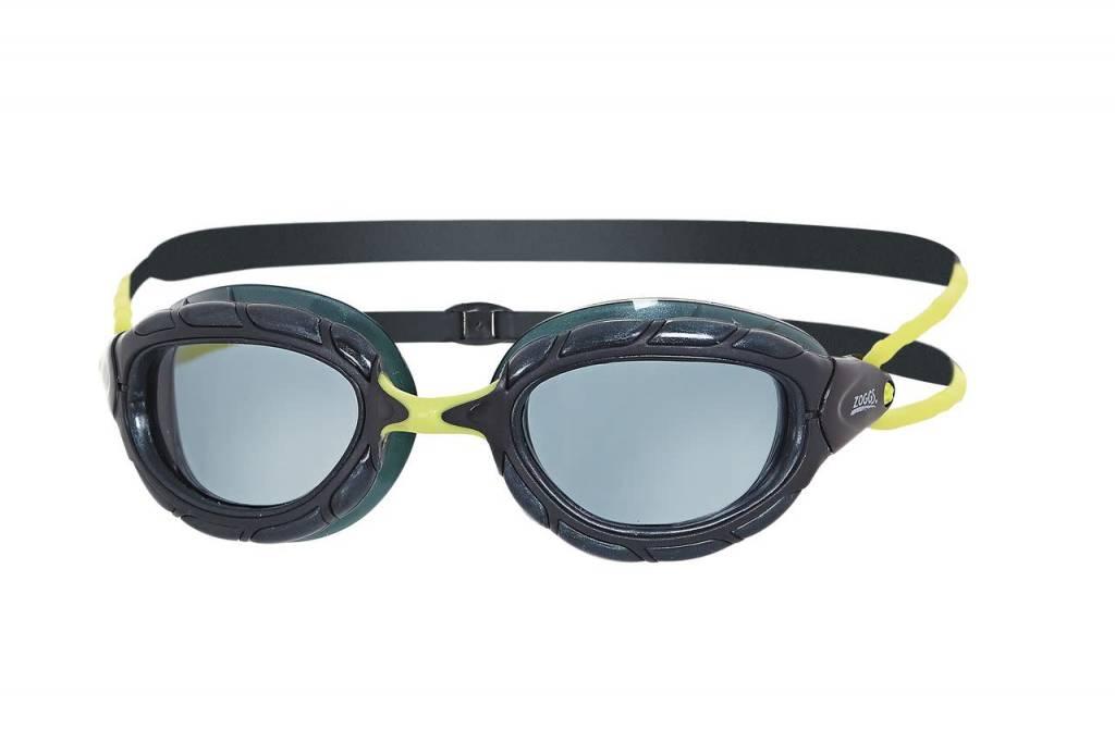 6d4d82cd54b849 Zoggs Zwembril Predator Black-Green-Smoke Kopen? Bestel online bij ...