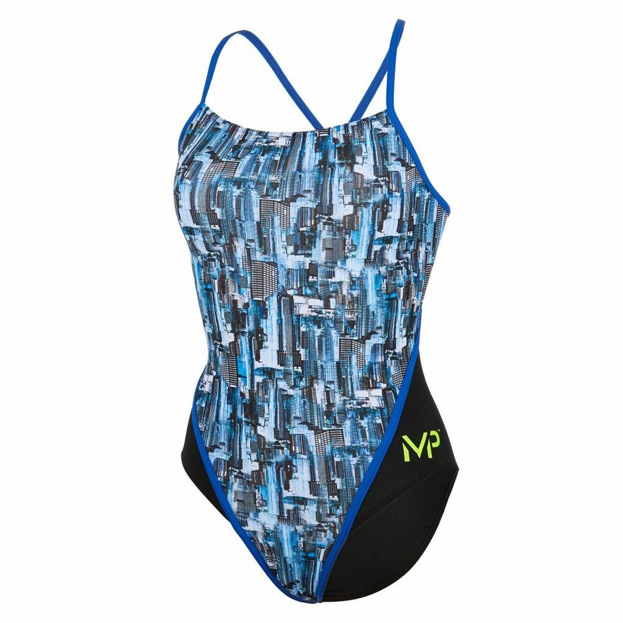 Michael Phelps Badpak City RB Multicolor-Zwart
