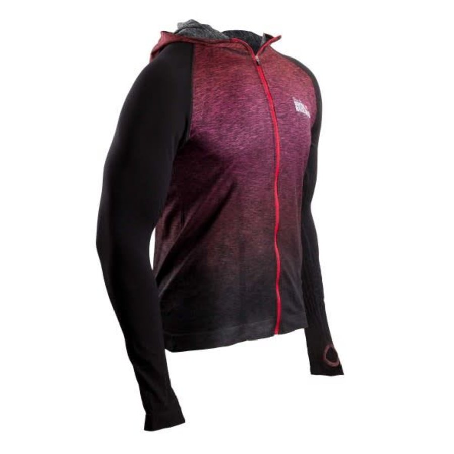 CompresSport 3D Thermo Seamless Hoodie Red