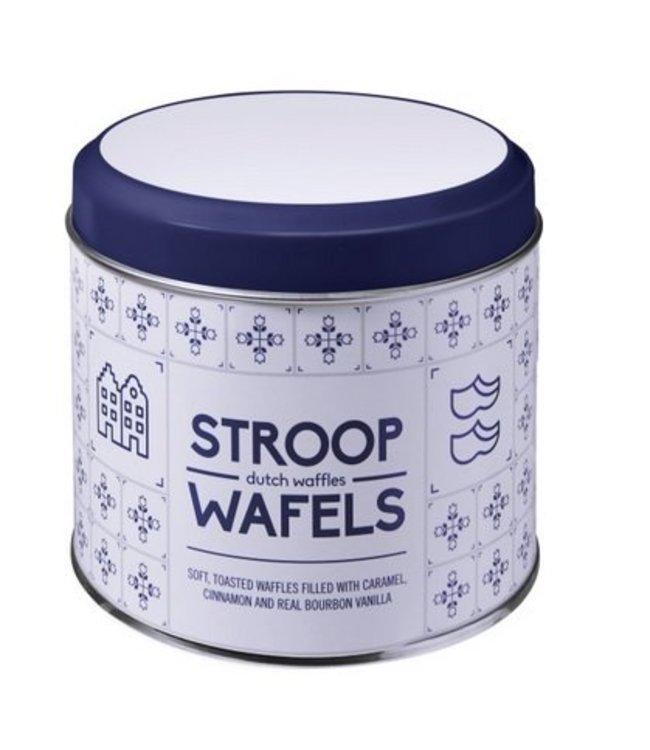 Daelmans Stroopwafels in blikje met eigen logo (dekselprint)
